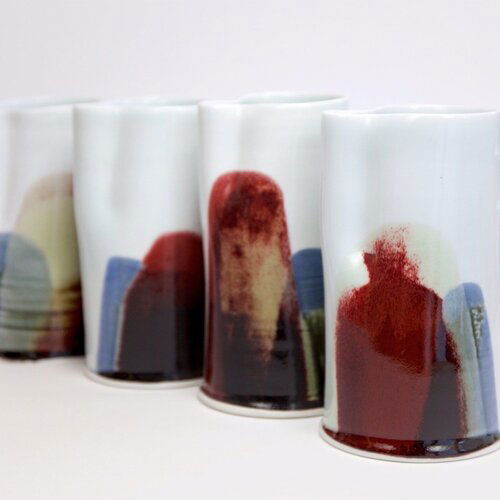 Markus Jungmann Porcelain-jugs-from-Earth, Fire and Water series