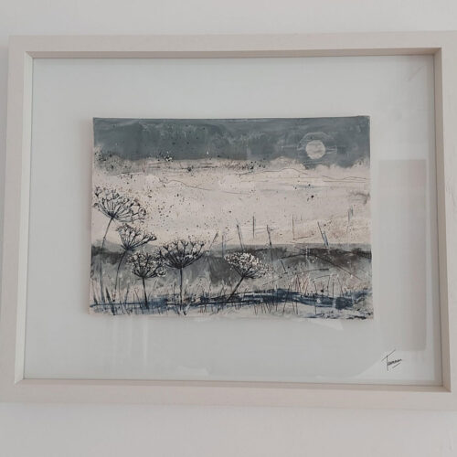 Tamaru Hunt-Joshi Ceramic Landscape no 2 blue egg gallery wexford